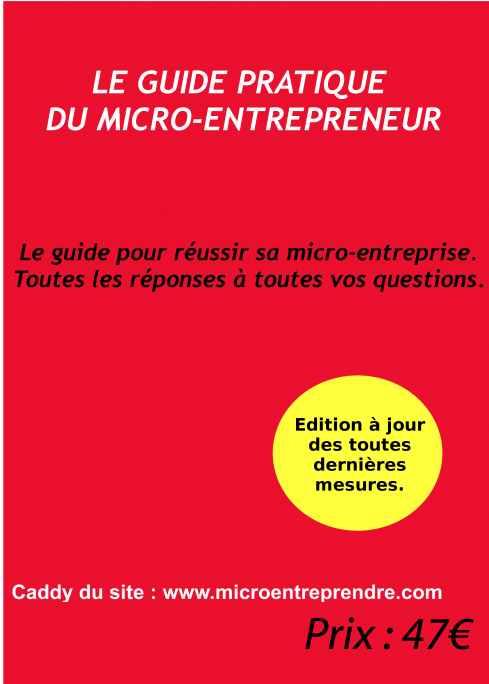 micro-entrepreneur : guide pratique